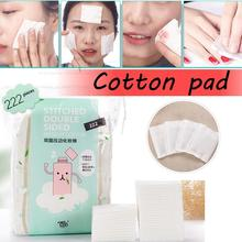 222PCS Disposable Makeup Remover Cotton Pad Soft Facial Cleaning Nail Polish Remover Cosmetic Tissue Makeup Beauty Care Tool недорого