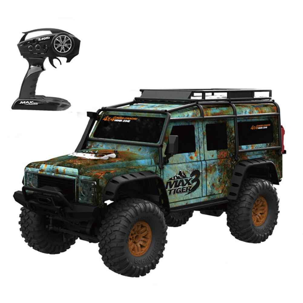 1/12 Batterij HB ZP1001 1/10 2.4G 4WD Rc Rally Auto Proportionele Controle Retro Voertuig LED Light RTR Model Outdoor speelgoed