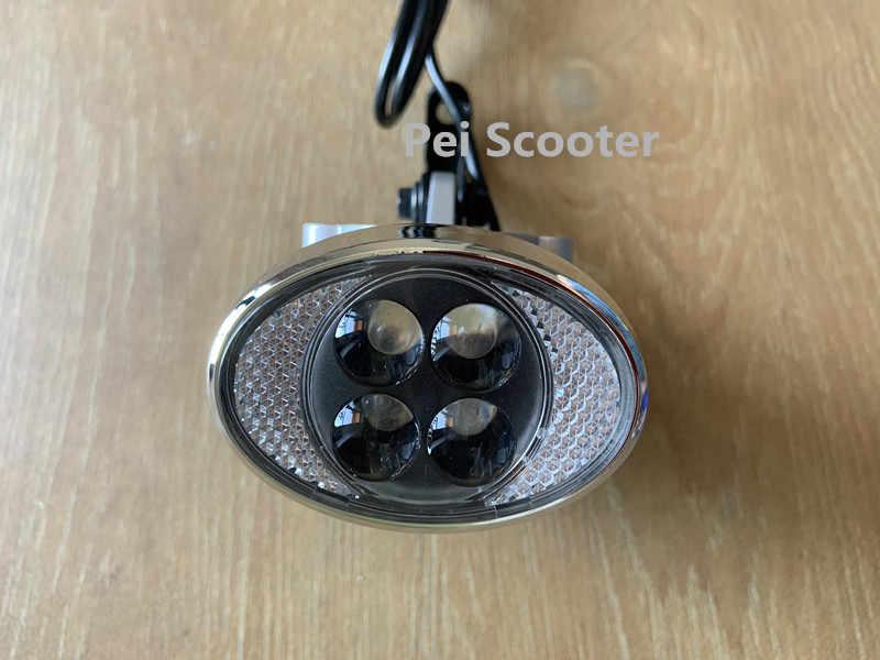Sepeda Listrik Skuter Lampu Depan LED Hl-116