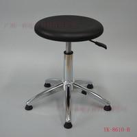 Anti-static PU Foaming จีน Knot ความสูงปรับรอบสตูลทำความสะอาด Anti-static ความสูงเก้าอี้ปรับโรงงาน workshop