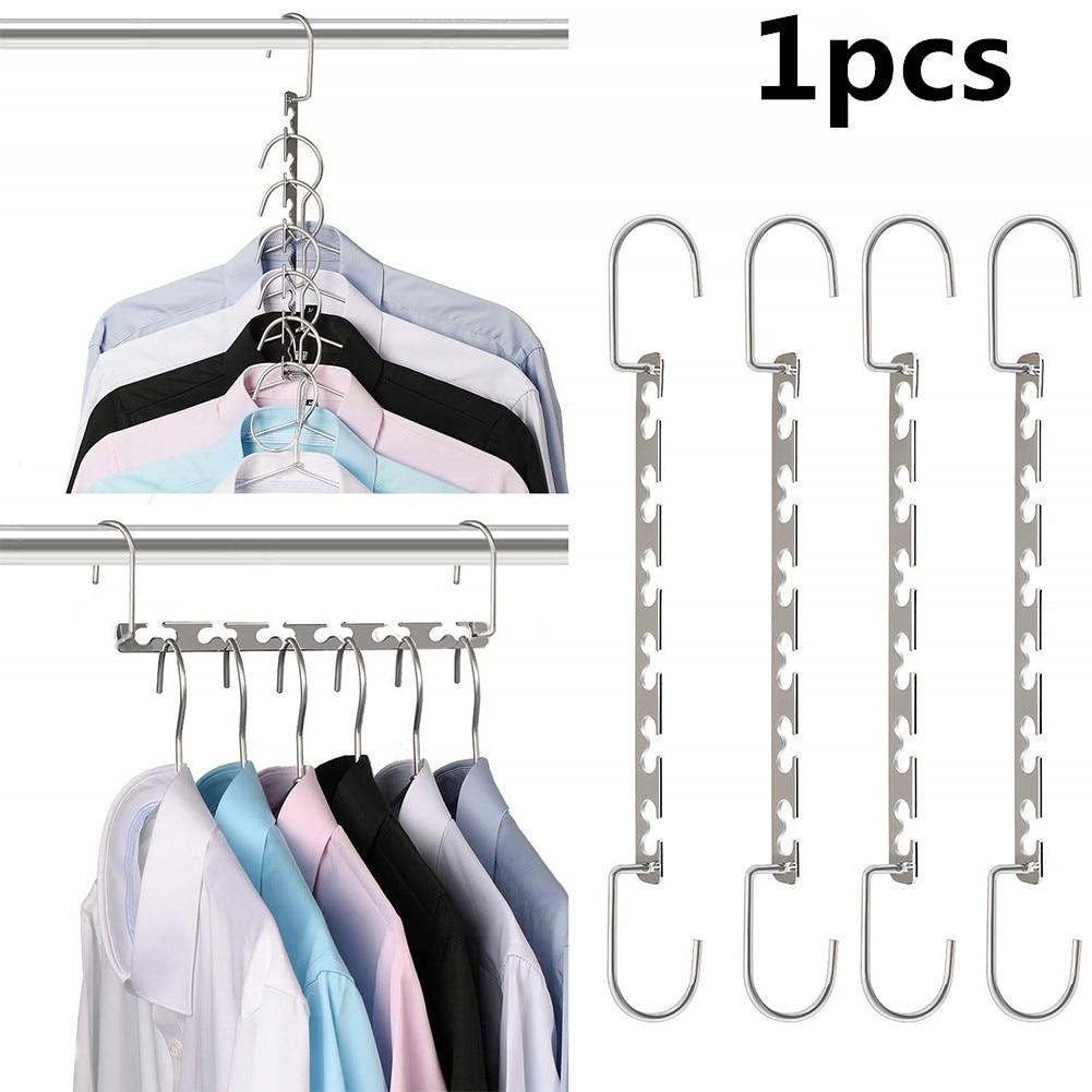 Новейшая складная металлическая сушильная вешалка для одежды гардероб для хранения организации гардеробные вешалки для одежды вешалка дл...