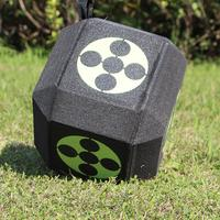 Hot 6 sided 3D Arrow Archery Target Cube 22cm Foam Target Large Dice For Shooting Hunting Practice Training Arrow Target Cube