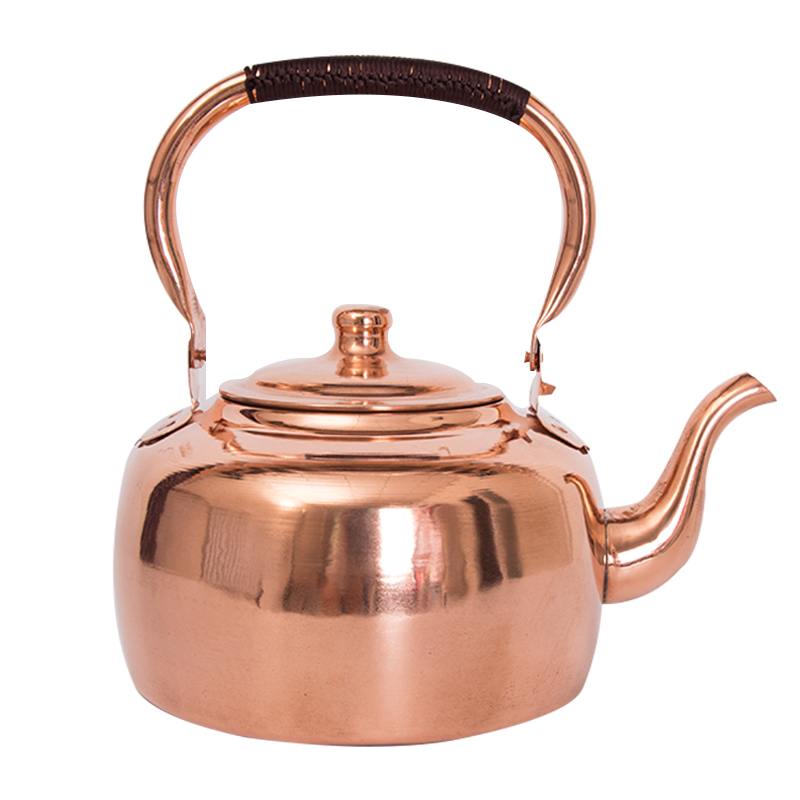 Copper Kettle Pure Copper Copper Copper Teapot Hand-boiled Water Copper Pot Plus Soup Pot Brass Large Thickened Home