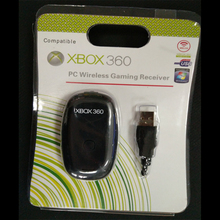 Récepteur de jeu sans fil pour Microsoft XBOX 360 pour Xbox360 Windows XP/7/8/10 USB récepteur adaptateur de manette