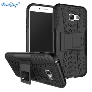 For Samsung Galaxy A5 2017 Case Heavy Duty Armor Slim Hard Tough Rubber Cover Silicon Phone Case for Samsung A5 2017 A520 A520F