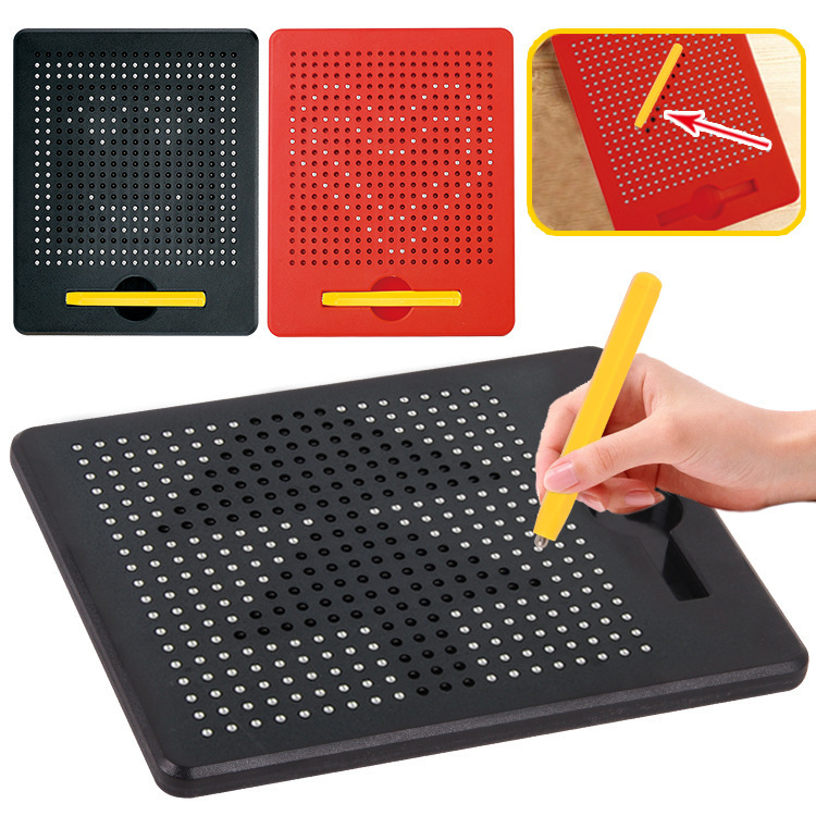 CHILDREN'S Drawing Board Magnetic Magnet Steel Ball Bead Doodle Board WordPad CHILDREN'S GIRL'S And BOY'S Early Education Househ