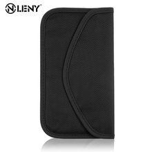 Mobile Phone RF Signal Blocker Jammer Anti-Radiation Shield Case Bag Pouch RF Signal Shielding Blocker Bag недорого