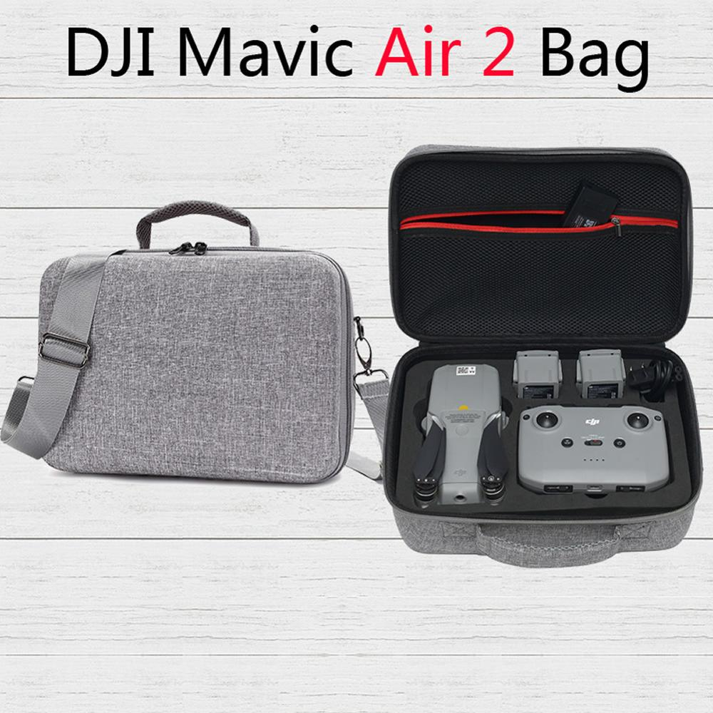 For DJI Mavic Air 2 Bag Waterproof Portable Storage Case Travel Handbag MAVIC AIR 2 Drone Accessories Protection Shoulder Bag