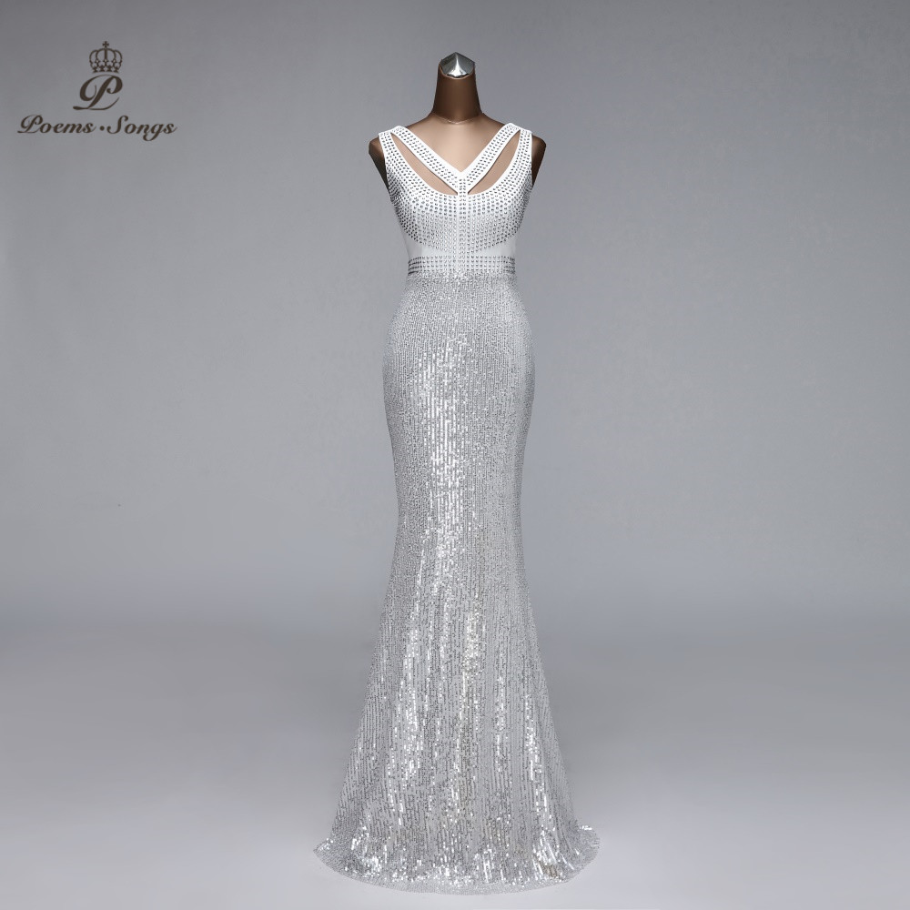 Mermaid Evening Dresses Woman Party Night Floor Length Formal Dress Prom Dresses Evening Gowns For Women Vestido De Noche