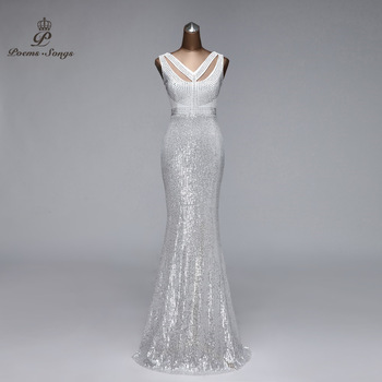 Mermaid evening dresses woman party night floor length formal dress prom gowns for women vestido de noche - discount item  50% OFF Special Occasion Dresses