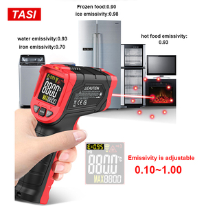 Image 5 - TASI 880 Degrees Celsius Colorful Display High Temperature Infrared Laser Thermometer