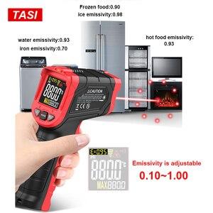 Image 5 - TASI 880 מעלות צלזיוס צבעוני תצוגה גבוהה טמפרטורת אינפרא אדום לייזר מדחום