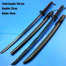 100cm Wooden Blade Less Sword Simulation Wooden Toy Sword Stage Role Play Props High-quality Children Toys Gifts Christmas Gifts(China)