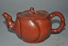 Dekoracje ślubne 7 #8222 Chines exquisite Yixing Zisha ceramika lotos dzbanek ceramiczny dzbanek do herbaty Flagon tanie tanio SIYAO CHINA Buddyzm Fioletowy gliny