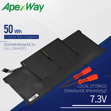 50WH Laptop battery for APPLE  A1377 A1405 A1496 A1369 MacBook Air 13