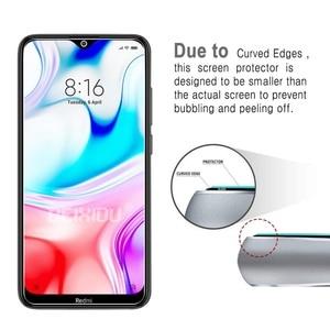 Image 4 - 2 uds cristal templado completo para xiaomi Redmi 8 Protector de pantalla 2.5D 9h vidrio templado para xiaomi película protectora Redmi 8