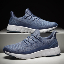 New Man Sneakers Mesh Running Shoes Breathable Sports Mens