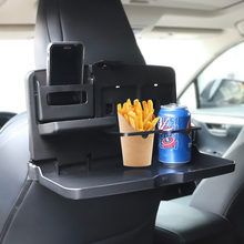 Car Folding Food Cup Tray Car Styling Car Interior Storage Shelf Backseat Cup Holder Dining Table Drink Holder