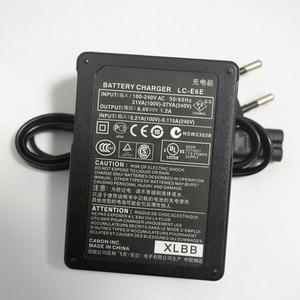 Image 5 - カメラのバッテリー充電器 eu プラグ LC E6E LCE6E LCE6 lc E6 E6E キヤノン eos 70D 60D 6D 7D 5D2 5D3 LP E6 8899