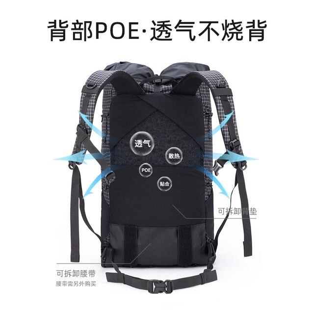 Naturehike Dyneema Backpack Ultralight 30+5L (Only 0.6kg) 2