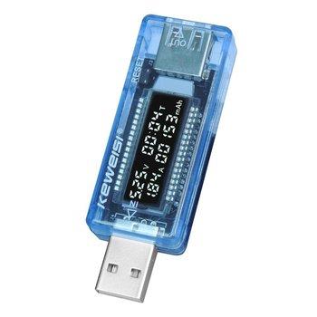 strong Import List strong LCD USB detektor wolt USB napięcie prądu ładowarka pojemność Plug and Play Power Bank miernik testowy woltomierz amperomierz tanie i dobre opinie CN (pochodzenie) NONE Current Voltage Capacity Tester