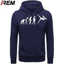 Engraçado bodyboardings evolução camisa masculina manga longa verão marca moda hoodies, sweatshirts