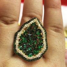 Роскошное эффектное составное кольцо GODKI в стиле Монако для женщин, кольцо для помолвки в стиле Дубай, панк, свадебные кольца на палец