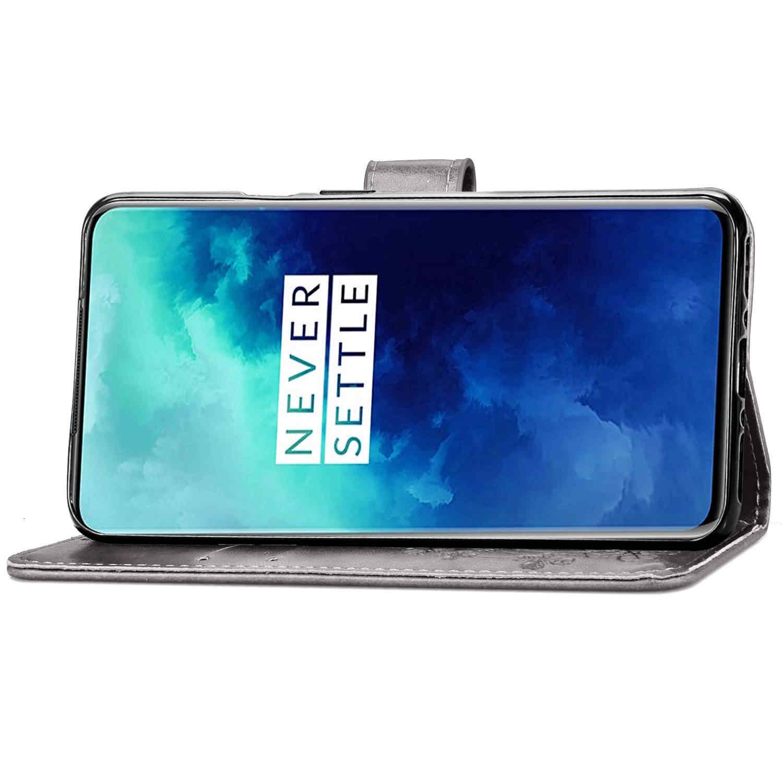 Deri Flip cüzdan kılıfı için Oneplus 3 3T 5 5T 6 6T 7 7T Pro kapak durumda