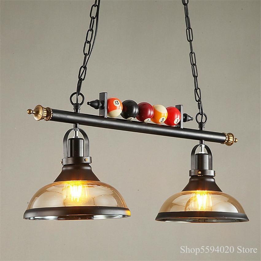 Nordic Billiard Table Pendant Lamp Decor Home Lights Retro Industrial Lights Pendant Lights Restaura