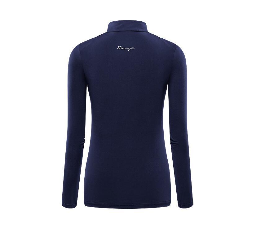 compridas T-Shirt de Golfe protetor solar roupas