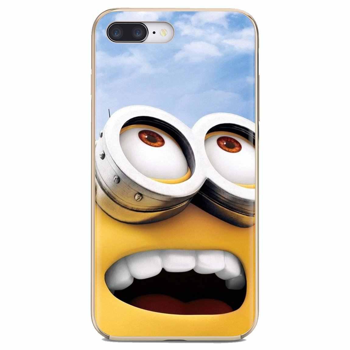 Cartoon Despicable Me Yellow Minions Silicone Case For Samsung Galaxy J1 J2 J3 J4 J5 J6 J7 J8 Plus 2018 Prime 2015 2016 2017
