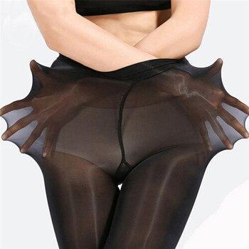 Women Body Stockings Ultrathin Shining Shaping Bodyhose Crotch Boat Neck Dance Men Shape Control Leo