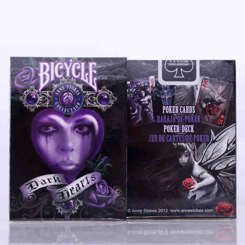 1 Deck Bicycle Cards Anne Stokes Bicycle Playing Cards Regular Bicycle Deck Rider Back Card Magic Trick Magic Props
