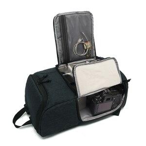 Image 5 - Mochila multifuncional impermeable para cámara, mochila de gran capacidad, mochila portátil para cámara de viaje para fotografía exterior