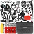 Vamson pour Go Pro accessoires Kit pour Gopro Hero 8 noir 7 6 5 pour Xiaomi Yi 4K caméra de sport pour DJI OSMO caméra d'action VS27