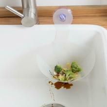Складной фильтр сушилка присоска для раковины корзина для хранения гибкий пищевой фильтр кухня анти-Блокировка воронка