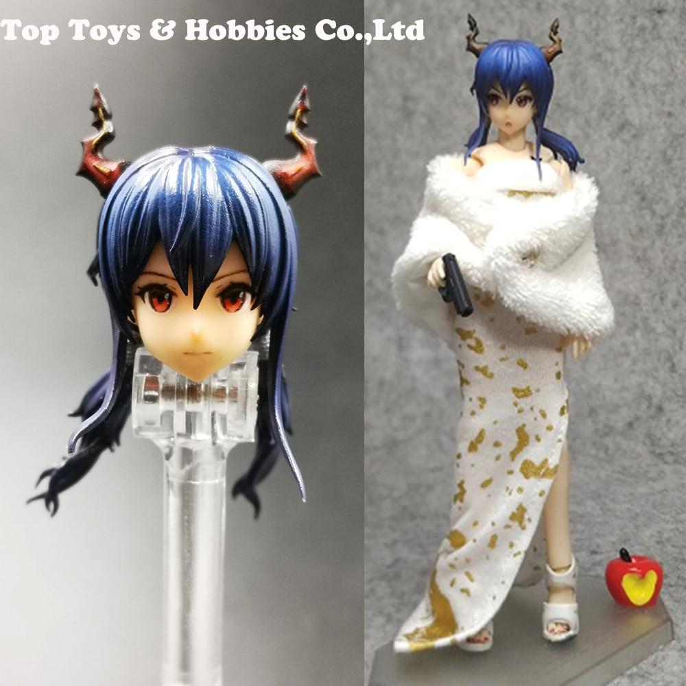 """Asie 1//6 femelle mobile Yeux Head Sculpt C Pour 12/"""" PHICEN Hot Toys figure USA"""