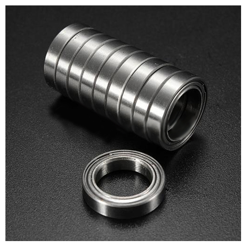 10pcs Miniature Sealed Metal Shielded Metric Radial Ball Bearing Model: 6701 ZZ 12x18x4MM