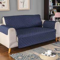 Sofá capa de sofá do cão de estimação crianças tapete protetor de móveis removível reversível braço slipcovers para 1/2/3 lugares sofás sala estar
