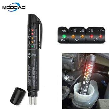 Brake Fluid Tester 5 LED Auto Diagnostic Brakes Testing Pen Portable Vehicle Auto Brake Tester for DOT3 DOT4 kkmoon auto vehicle switches
