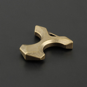Copper EDC Multi Tool DIY Keychain Pendant Brass Outdoor Tool Personality With Window Breaker