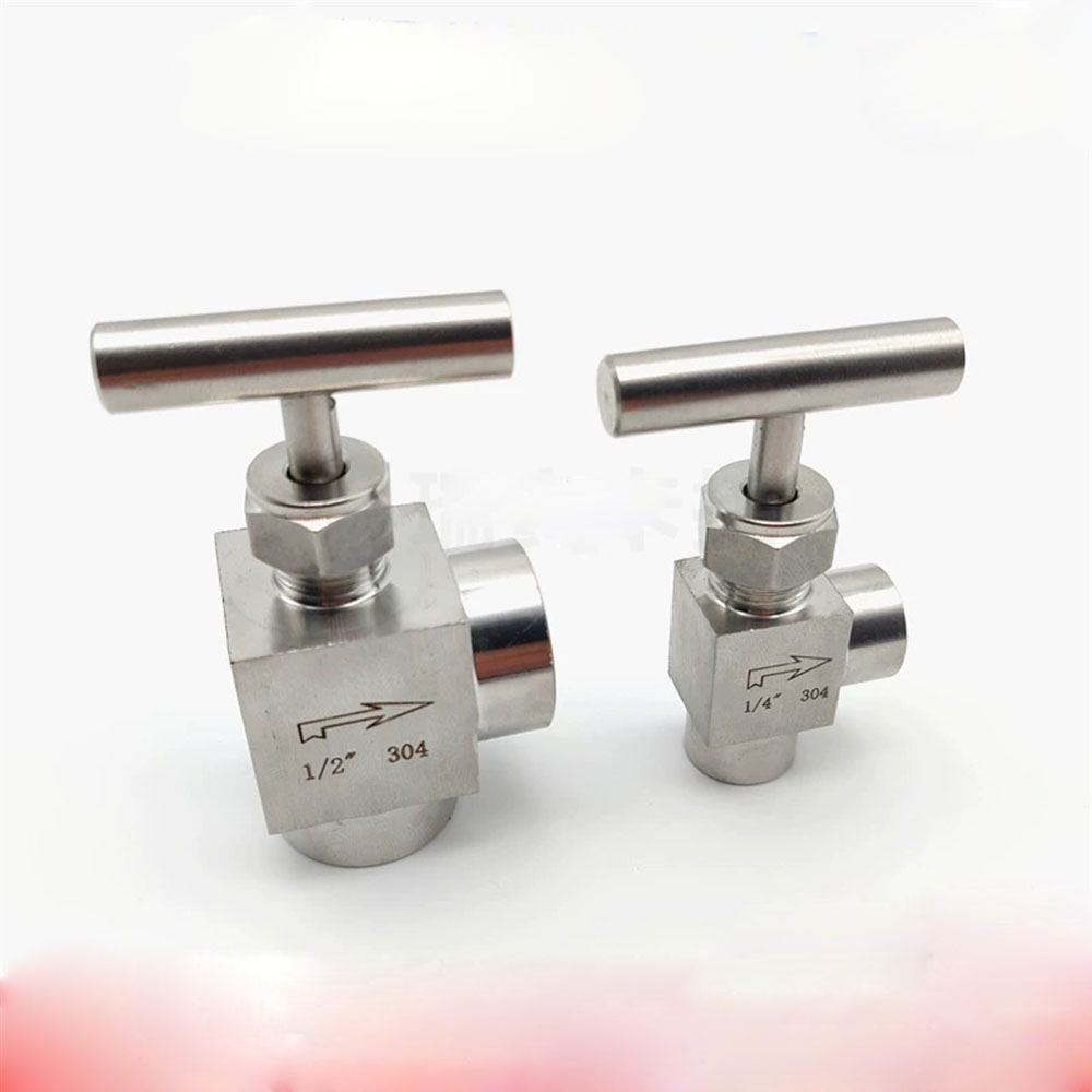 1//8 1//4 3//8 1//2 BSP Female Needle Valve Crane 915 PSI 304 Stainless Flow Control with One-Shape Handle,1//2
