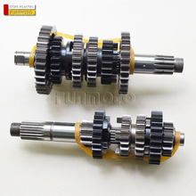Primary and secondary shafts and shift drum/ sprocket and nut/washer/spacer suit for  zontes  t310 ZT , model 2019