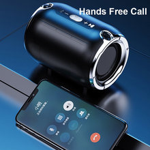 High Power Waterproof Bluetooth Speaker Portable Column Super Bass Stereo for Comuter PC Speakers with FM Radio BT AUX TF USB