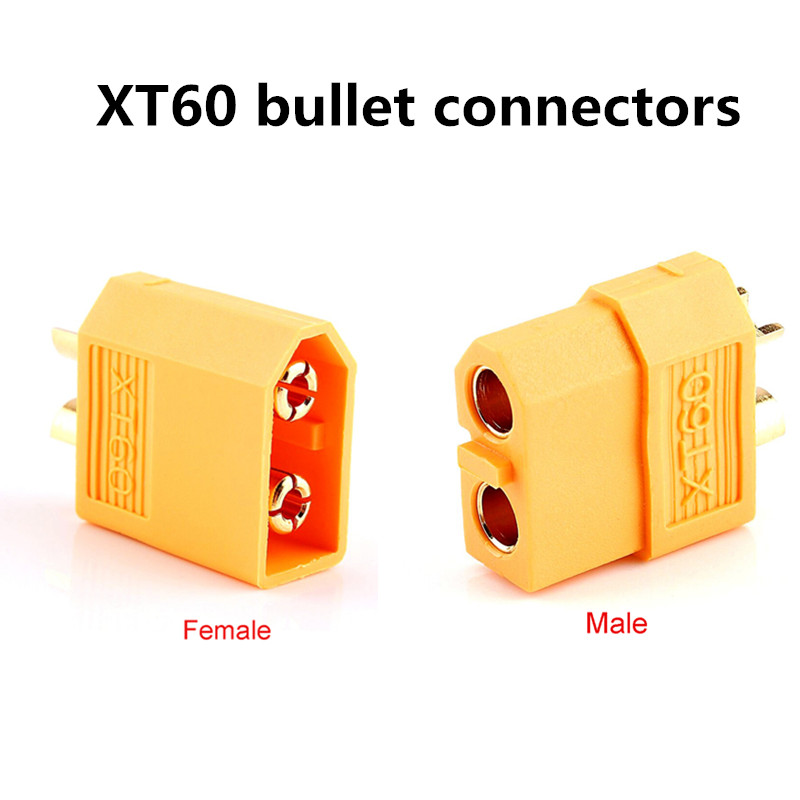 10pair / lot high quality XT60 bullet connector plug for RC Lipo lithium polymer battery thermal male and female wholesale(China)