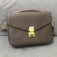 Top Quality Luxury Brand Women Messager Bag New Fashion Women Handbag Pochette Metis Bag Design Shoulder Bag Women Shoulder Bag