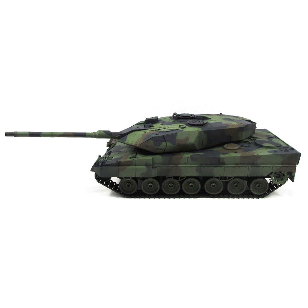 Henglong 1:16 German Leopard 2A6 6.0S RC Tank with Steel Gearbox IR and Airsoft