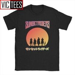 Men Tshirt Sunset Riders Metal Slug Novelty 100 Percent Cotton Retro Classic Geo Gun Game Tshirt