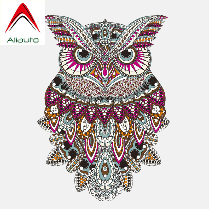 Aliauto Lovely Car Stickers Beautiful Forest Tribe Owl Accessories Decoration Vinyl Decal For Smart Hyundai Bmw Audi 11cm 15cm Car Stickers Aliexpress