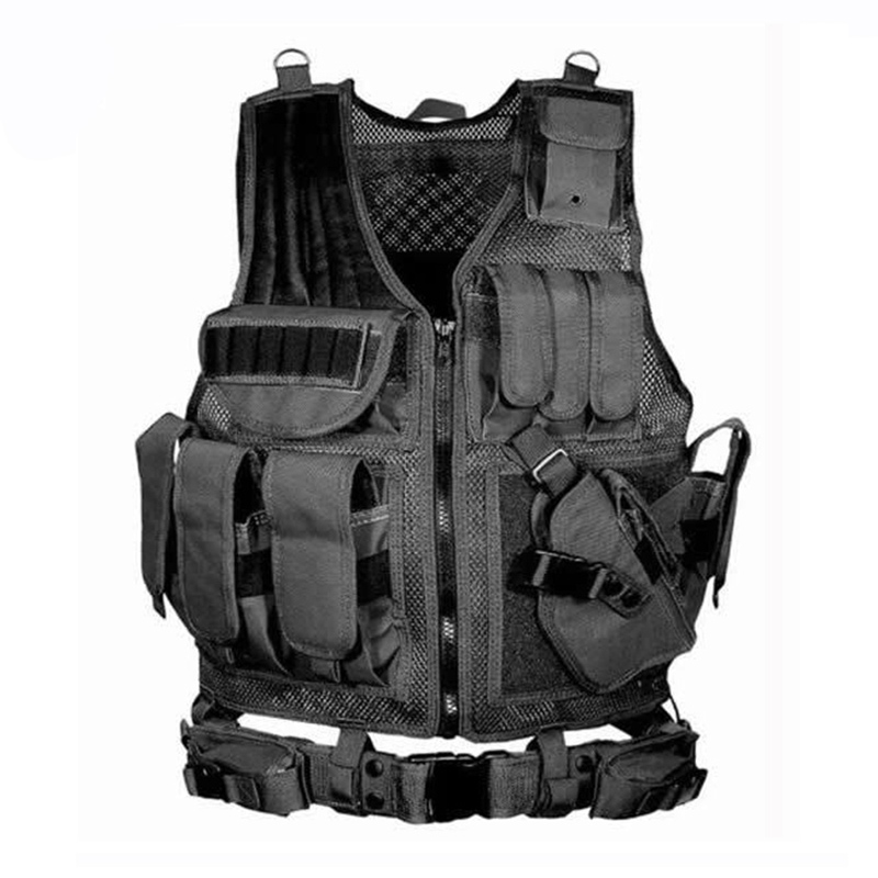 Military Equipment Tactical Vest Airsoft Hunting Molle Vest For Outdoor Wargame Army Training Paintball Combat Protective Vest